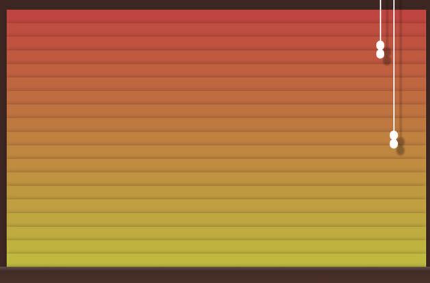逼真的HTML5+CSS3窗帘拉开收起动画特效