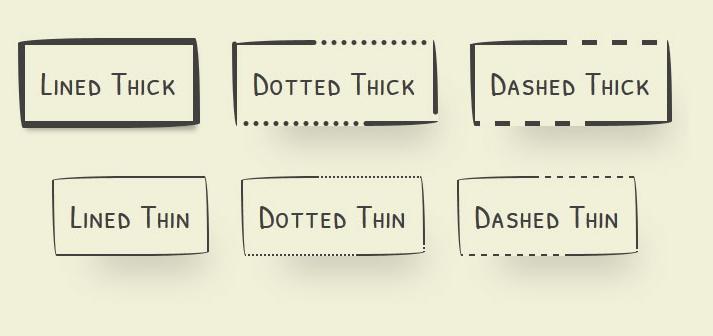 CSS3带阴影动画效果的手绘卡通风格按钮特效