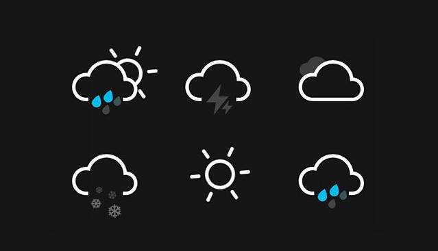H5+CSS3动画天气图标代码