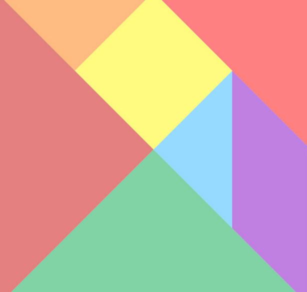 html5的七巧板特效