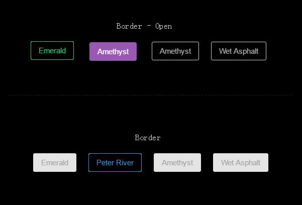 几组漂亮的CSS3按钮边框动画特效