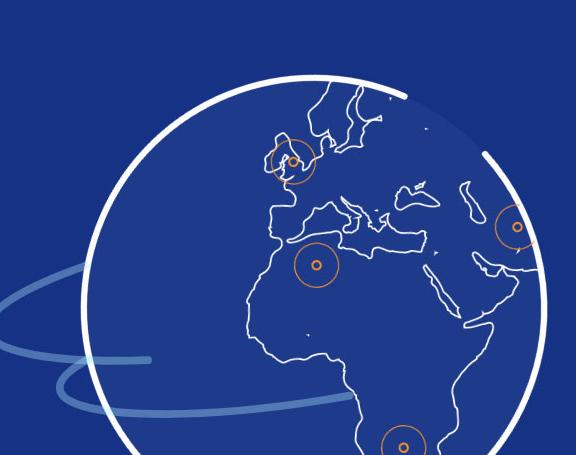 html5 svg世界地图热点动画特效
