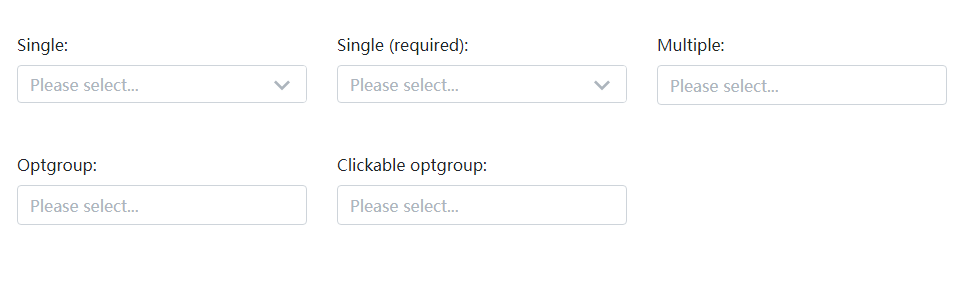 jQuery select下拉框单选和多选插件