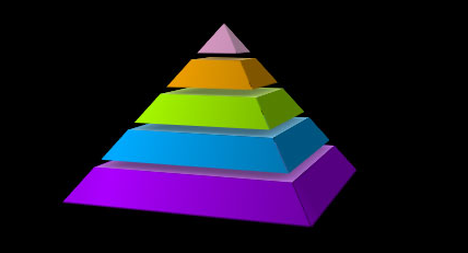 CSS3 3D金字塔旋转动画特效