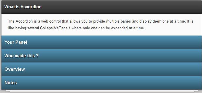 CSS3+HTML5 3D垂直手风琴菜单动画切换特效