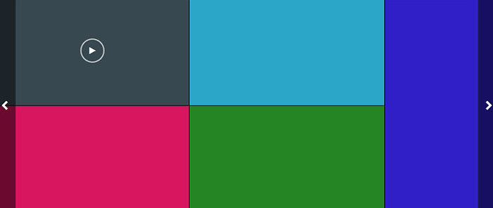 jQuery+css3自适应多图横向滚动切换代码