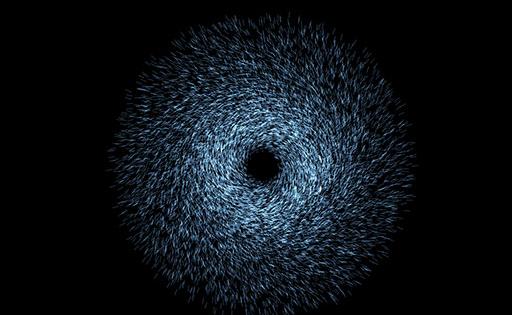 HTML5+WebGL酷炫粒子爆炸动画特效