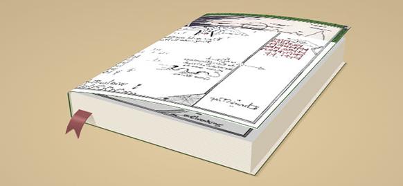 CSS3 3D书本翻页动画效果
