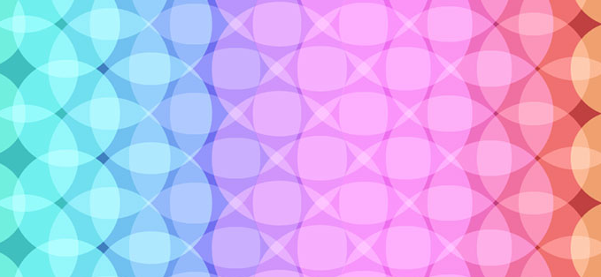 css3+animation绘制彩色光点背景动画