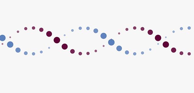 CSS3+DNA螺旋结构分子粒子动画特效