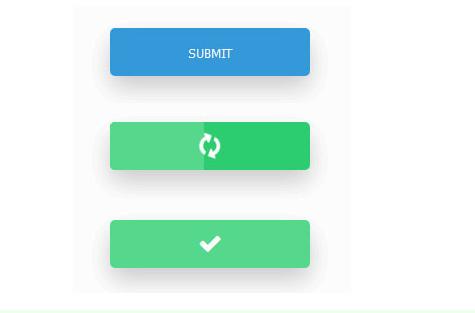 css3实现点击提交按钮加载进度条动画特效