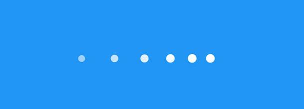 CSS3+H5 Animation圆点动画网页加载特效
