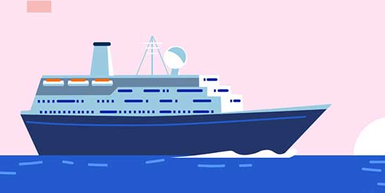 H5+css3海上邮轮动画效果