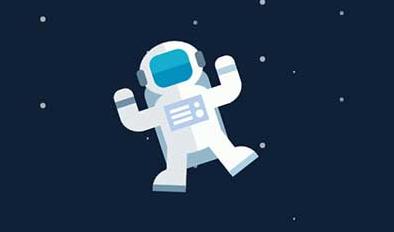 JS+CSS3宇航员动画特效