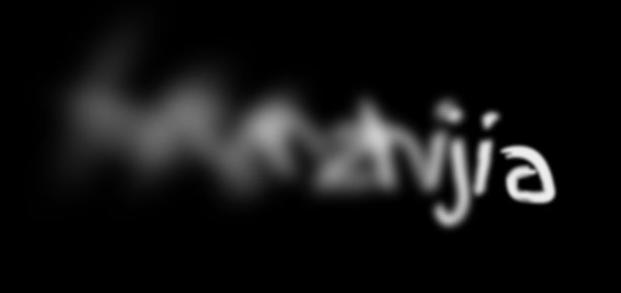 H5+CSS3文字烟雾散开动画特效