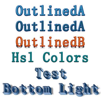 CSS3+H5艺术文字特效代码