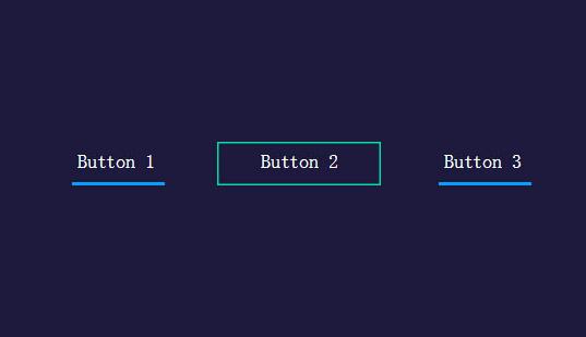 CSS3+JS动画按钮导航菜单特效