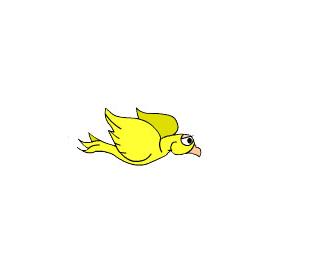 jQuery+CSS3动画小鸟飞翔