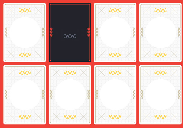 jQuery+C3扑克洗牌和扑克牌翻转动画特效