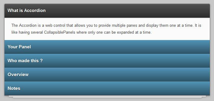 CSS3 3D垂直手风琴菜单动画切换特效