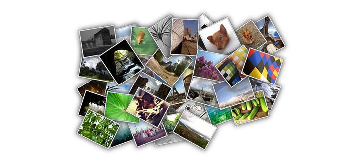 jQuery图片堆叠布局点击弹出幻灯片展示特效