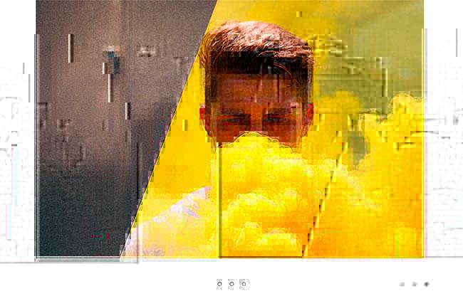HTML5和SVG遮罩图片切换特效