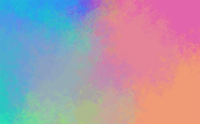 HTML5 Canvas水彩画板涂色特效