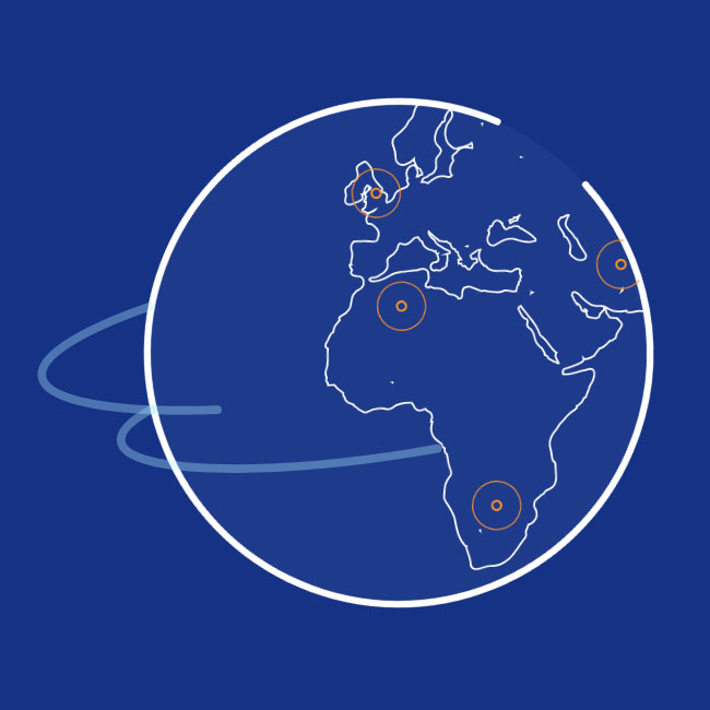 html5 svg世界地图热点动画