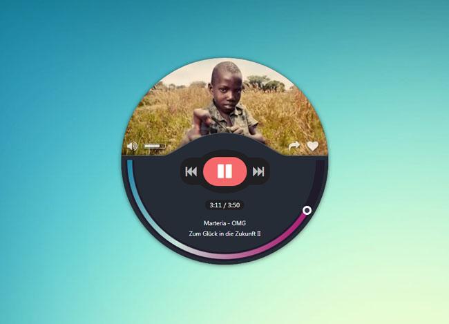 jQuery-精致的音乐播放器代码