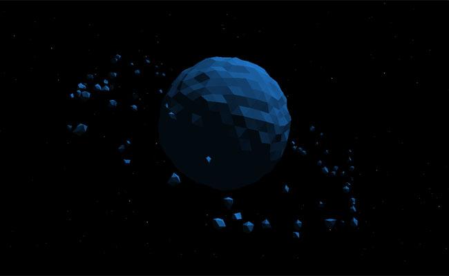 html5-canvas天体运动动画特效
