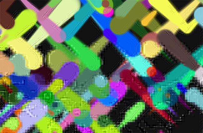 HTML5-艺术彩笔涂鸦动画特效