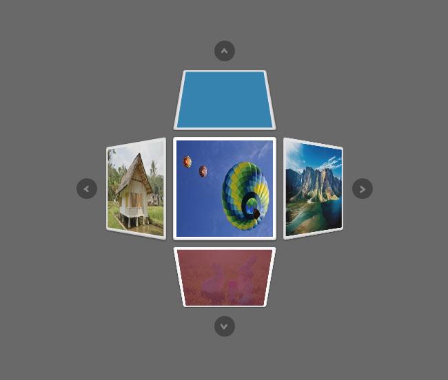 HTML5-三维布局图片切换代码