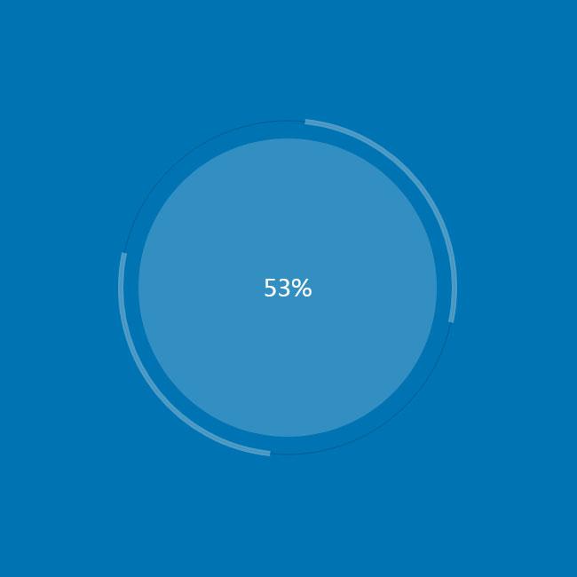 HTML5-网盘文件扫描加载特效