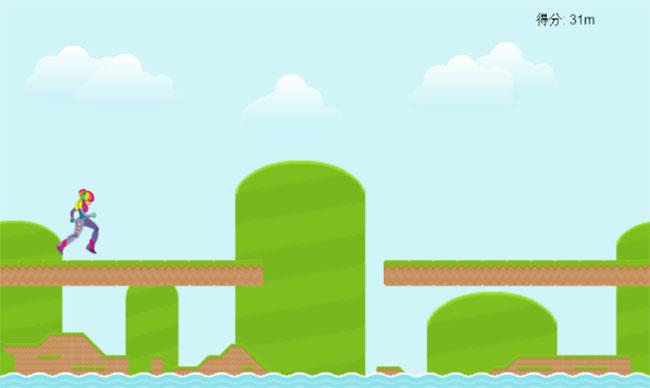 HTML5-跑酷网页小游戏代码