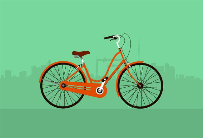 HTML5-SVG自行车行驶动画特效