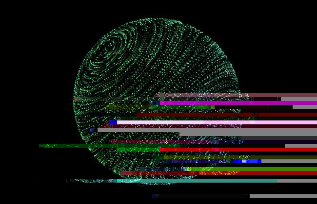 HTML5-粒子图形变形动画特效