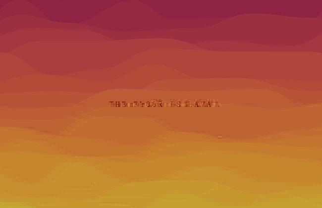 HTML5-Canvas岩浆动画背景特效