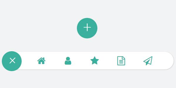 js-实现可展开隐藏导航菜单按钮特效