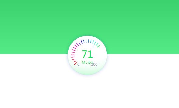 2019最新SVG实现动态网络测速仪表盘特效动画