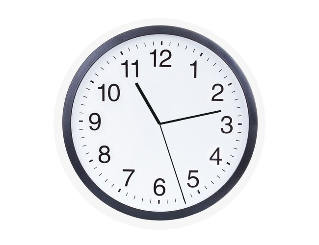 原生js基于css3圆形时钟特效