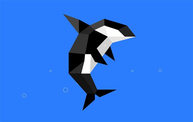 纯CSS3鲸鱼跳跃气泡动画特效