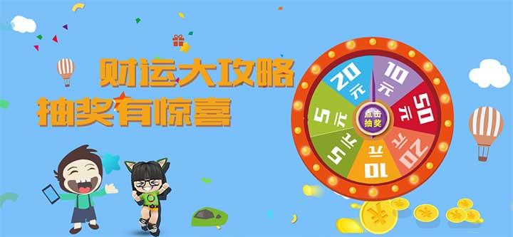 CSS3轉盤抽獎活動banner圖片動畫特效