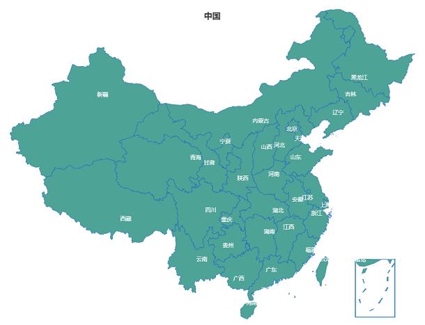 HTML5 Canvas实现中国地图(可展开地级市子地图)