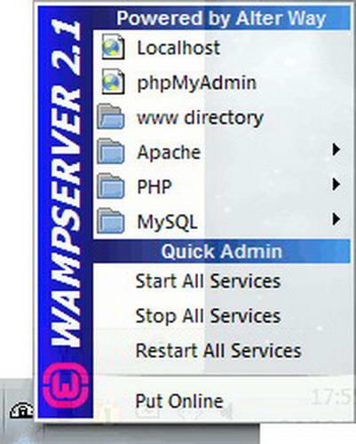 WampServer (32bit)2.5