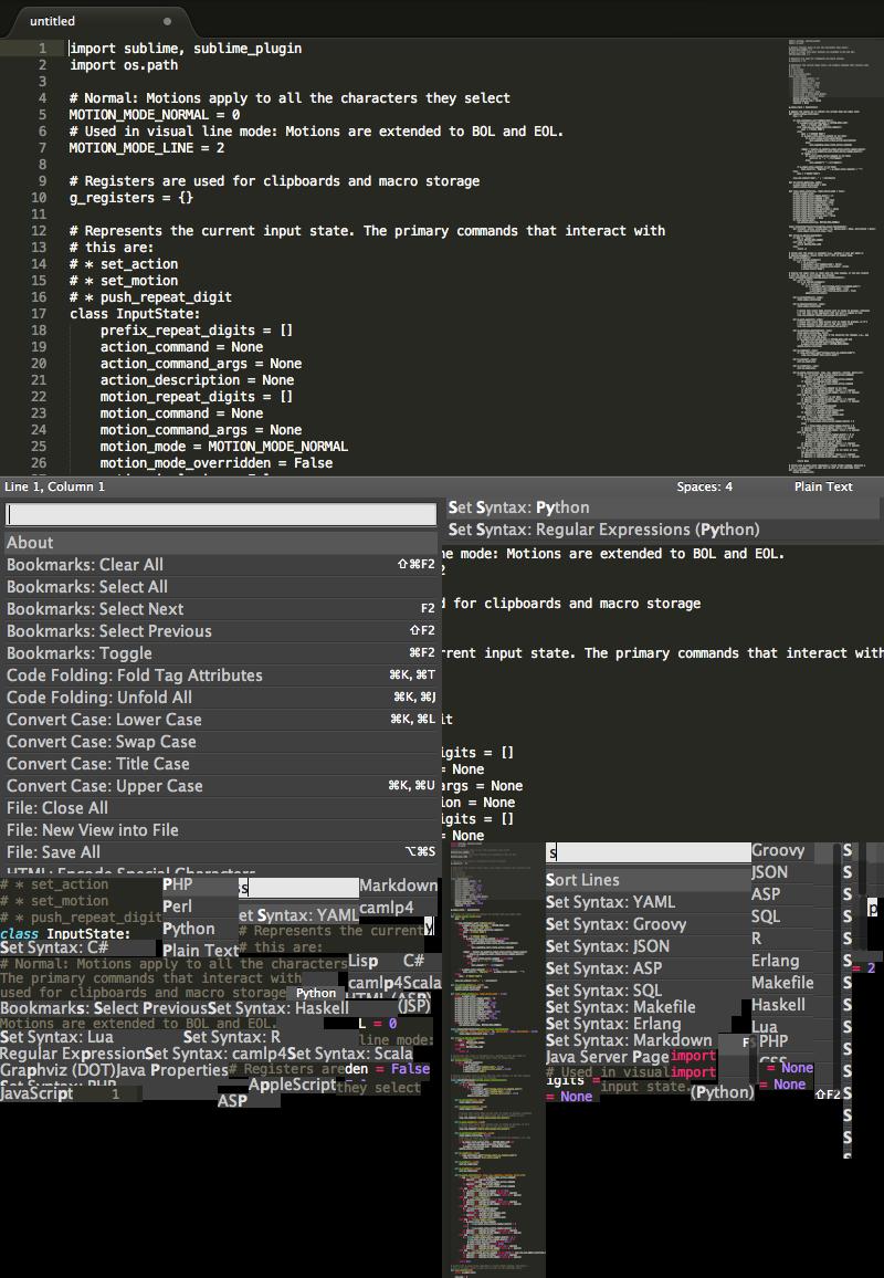 SublimeText3 Mac版