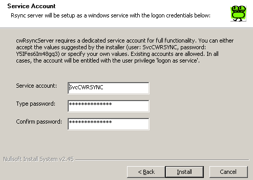 cwRsync win 服务器同步软件 cwRsync_2.1.5_Installer