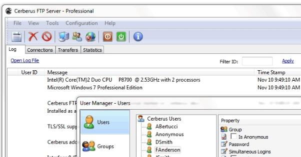 CerberusFTP Server9.0.3.0for64