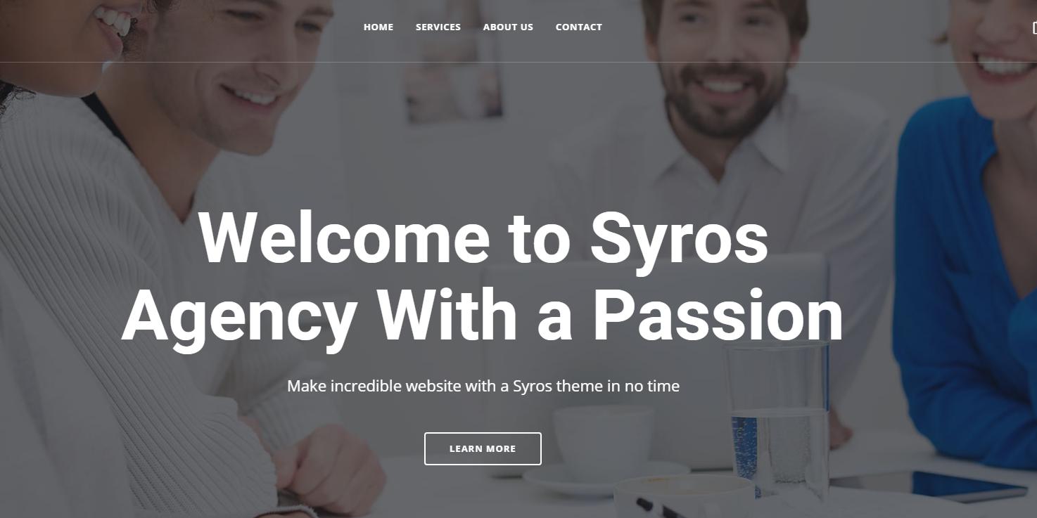 通用HTML5企业网站模板