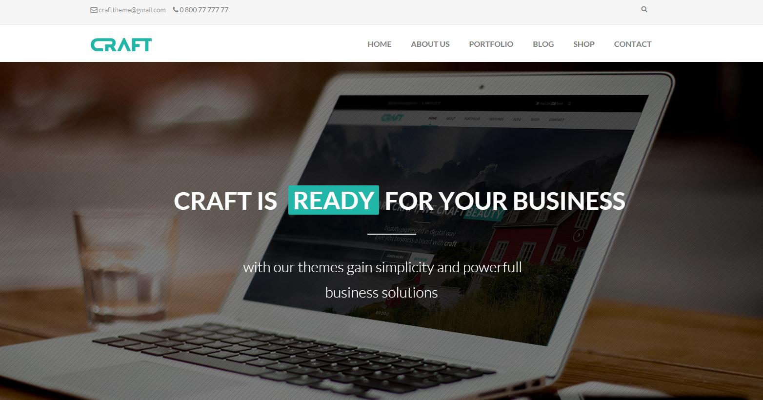响应式大屏企业网站模板