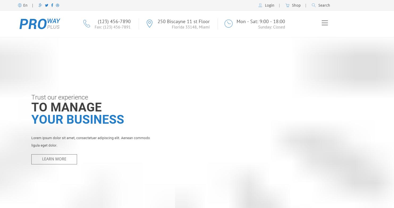 响应式Bootstrap企业模板